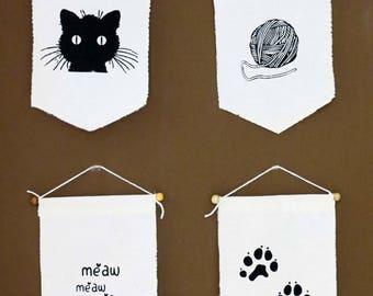 Cat Wall Decor cat wall art | etsy