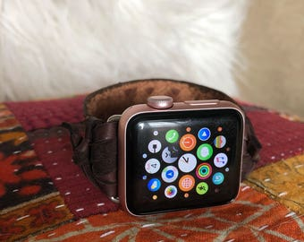 38mm Leather Western Bohemian iWatch Band