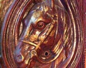 horse tie rack