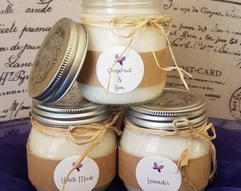 AuNaturel Medium Mason Jar Candle