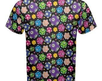 Rolling Tshirt - Katamari Mens Tshirt Shirt Katamari Cousins T-Shirt Katamari Damacy Cotton T-Shirt Plus Size Tshirt Video Game Tee Ichigo