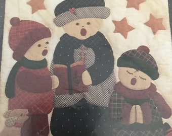 SPRINGSALE Carolers Wallhanging Quilt Kit
