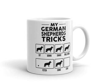 My German Shepherds Tricks Mug - Funny Cute German Shepherd Gift - Dog Lover - Coffee Mug