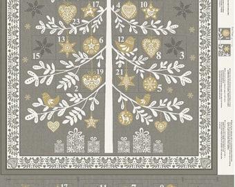 Scandi '18 Grey Advent Calendar Panel
