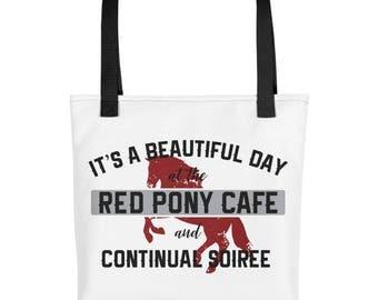 Walt Longmire Red Pony Cafe Tote Bag Purse