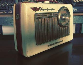 KB Rhapsody De-Luxe Transistor radio  from 1958 ( free U.K.  shipping )