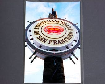 "Fine Art Photography ""Fishermans Wharf"" Archival Print"
