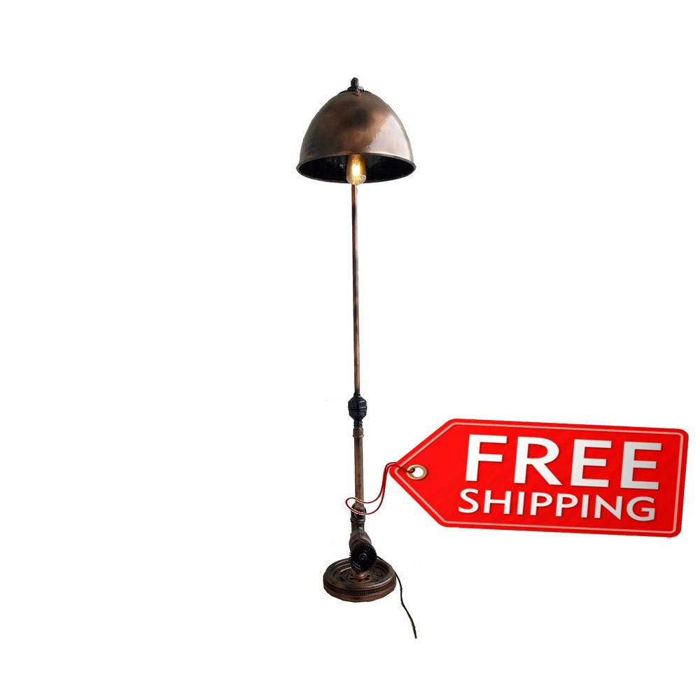 Modern floor lamps industrial lamps torchiere floor lamp with for Contemporary torchiere floor lamps