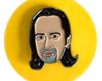 Lin-Manuel Miranda (Hamilton musical) enamel lapel pin
