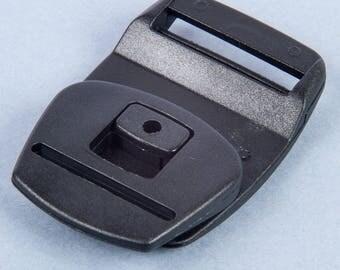 Black strap belt clip