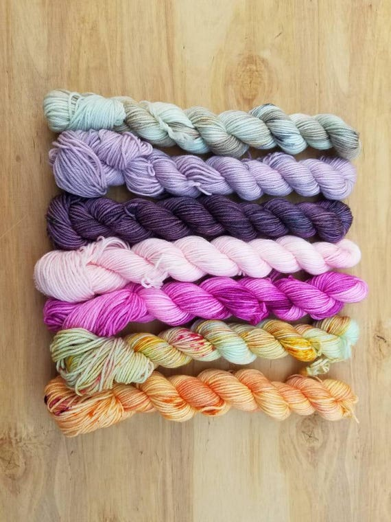 Whimsy Kitty Mini Set on  Everyday - Superwash Merino Nylon - 554 yards