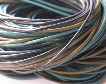 leather cord 2 mm by 15 meters
