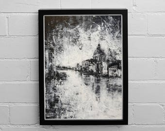 Venice Painting, The Grand Canal, Venice Print, Venice Wall Art, Painting Print, Painting Frame, Italy Wall Art, Italy Gift, Venice, Italy