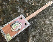 Acoustic Cigar Box Guitar - Arturo Fuente Box - Great gift for a guitarist!