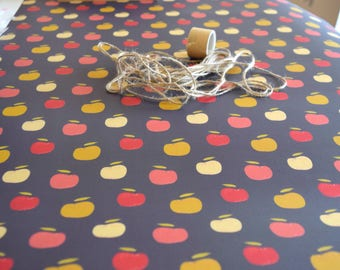 Apple Wrapping Paper, Fall Wrapping Paper, Apple Print, Back to School, Teacher Wrapping Paper, Autumn Gift Wrap, Roll Wrapping Paper
