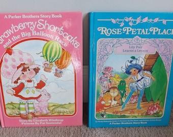 Vintage Strawberry Shortcake Books Original 1980's