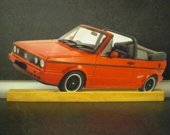 VW GOLF CAB DECORATIVE PEDESTAL PLATE
