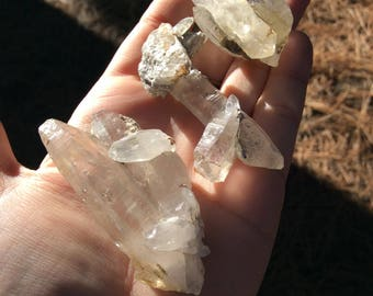 Beautiful unique Quartz lot from Gilgit, Pakistan (q7)