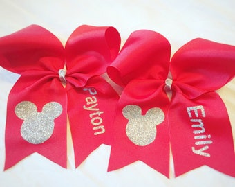 minnie bow, disney bow, disney trip, minnie hair bow, minnie hair clip, disney hair bow, bows for girls, big bows, custom disney bow