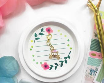 Lilac Carriage Planner Charm/ Planner Charm / TN Lilac Charm