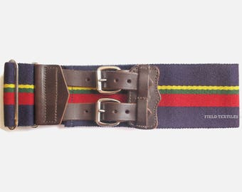 Royal Marines Stable Belt - Uniform Belt - Size Large - British Army - NEW - E310