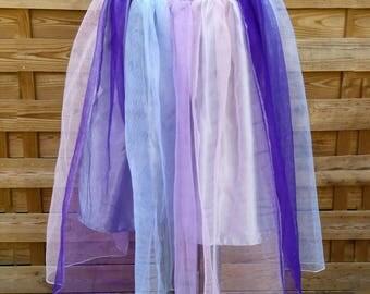 Skirt Unicorn, unicorn tutu, pastel goth, cyber goth, Gothic skirt, club, scene, multicolored skirt, Rainbow sky, magic, fairy princess skirt
