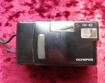 Olympus AF-10 super vintage camera / tested / working