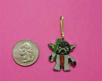 Yoda zipper pull
