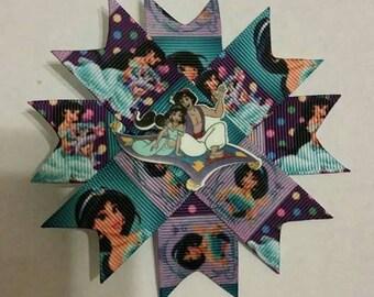 4 inch Aladdin hair clip