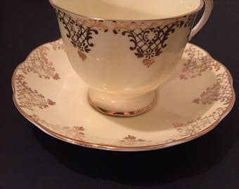 Vintage Royal Albert Teacup and saucer, made in England.