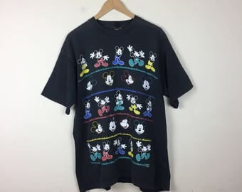 90s Mickey Mouse T Shirt