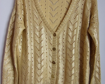 Shiny sweater | Etsy