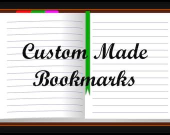 Custom Made Bookmarks