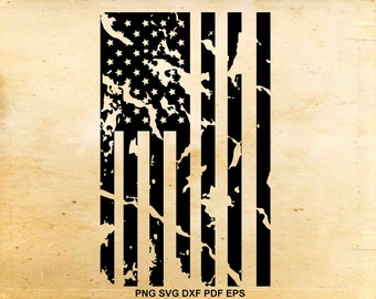 Distressed american flag svg, 4th of july svg, Iron on designs, Fourth of july, Distressed flag svg, Files for Cricut, Files for Silhouette