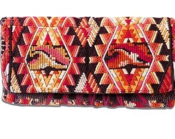 Guatemalan Gypsy Embroidered Clutch