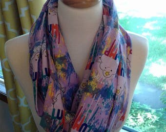 "Adventure Time ""What the Lump"" Infinity scarf"