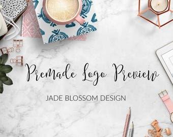 Premade Logo Preview