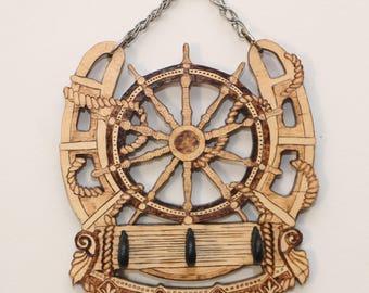 Art key hanger
