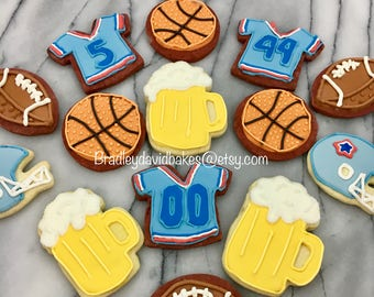 Sports and Beer Cookies