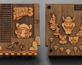 Wooden Mario Raspberry Pi Zero Case + Stand