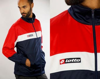 Lotto Windbreaker / Lotto Track Jacket / Lotto Tracksuit / Lotto Nylon Jacket / lotto Shell Jacket / Lotto 90s / 90s Windbreaker / Lotto