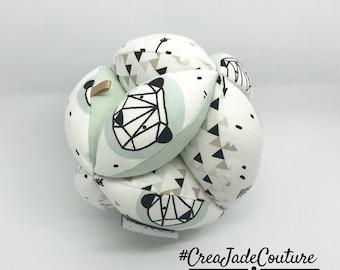 Ball of grasping baby - newborn gift - baby accessory Montessori method