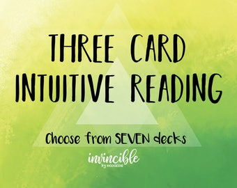 3 Card Intuitive Reading