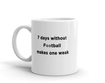 Funny Football Mug, Football Coach, Novelty Coffee Cup, Personalized coach, Football Coach Gift,Gift for coach, Sports mug
