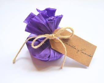 Ecologic vanilla and lavender soap