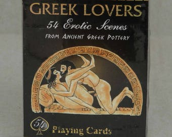 Greek Lovers - A Deck of Playing Cards