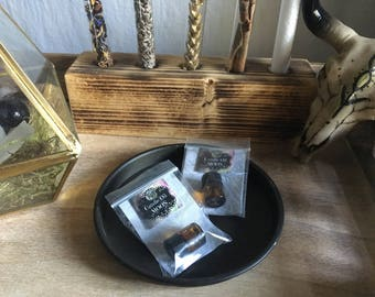 Magic candle oil [MOON] lone candles / dedicate / good energy / harmonise / ritual oil / magic oil