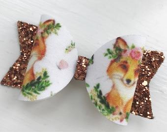 Fox hair clip