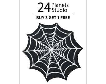 Spider-Man Cobweb Iron on Patch by 24PlanetsStudio