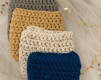 Warm Cowl - Infinity Scarf - Winter Scarf - Crochet Scarf - Bulky Scarf